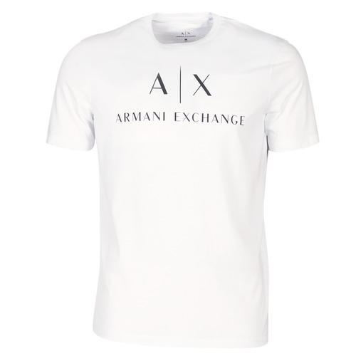 textil Hombre Camisetas manga corta Armani Exchange 8NZTCJ-Z8H4Z-1100 Blanco