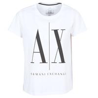 textil Mujer camisetas manga corta Armani Exchange 8NYTCX-YJG3Z-5102 Blanco