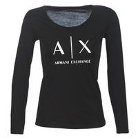 textil Mujer Camisetas manga larga Armani Exchange 8NYTDG-YJ16Z-1200 Negro