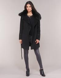 textil Mujer Abrigos Moony Mood LITEA Negro