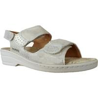Zapatos Mujer Sandalias Mobils By Mephisto Roselie cuero platino