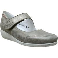Zapatos Mujer Bailarinas-manoletinas Mobils By Mephisto Janis Cuero topo
