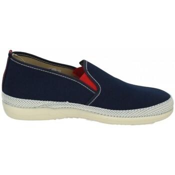 Zapatos Hombre Mocasín Vulca-bicha Lonas cocodrilo vb Azul