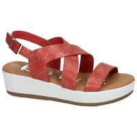 Zapatos Mujer Sandalias Karralli Sandalias gregal ROJO
