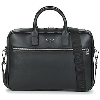 Bolsos Hombre Maletín / Portadocumentos Emporio Armani Y4P119-YLA0E-81074 Negro