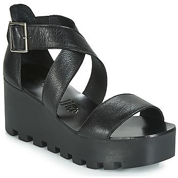 Zapatos Mujer Sandalias Sweet Lemon SUBWAY Negro