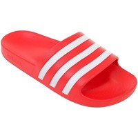 Zapatos Hombre Chanclas adidas Originals Adilette Aqua Rojos