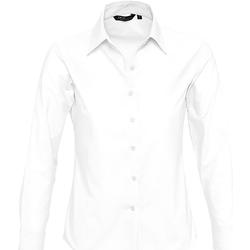 textil Mujer camisas Sols EMBASSY OXFORD GIRL Blanco