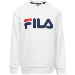 textil Niños sudaderas Fila Kids Classic Logo Crew Sweat Blanco