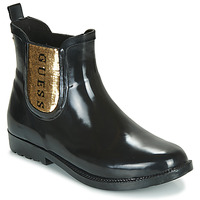 Zapatos Mujer Botas de agua Guess REKHA3 Negro / Oro