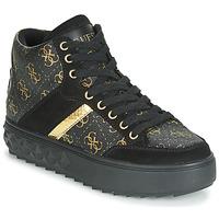 Zapatos Mujer Zapatillas altas Guess FIXIN Negro