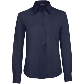 textil Mujer camisas Sols EXECUTIVE Azul