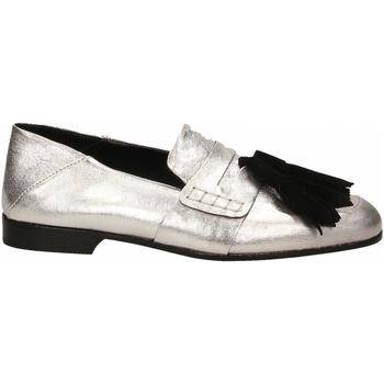 Zapatos Mujer Mocasín Lemaré CAMOSCIO/LAMINATO argento-nero
