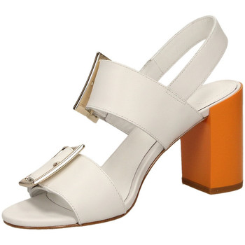 Zapatos Mujer Sandalias What For GEORGETTE white-bianco