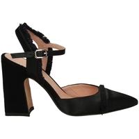 Zapatos Mujer Zapatos de tacón Malù RASO E CAMOSCIO nero-nero