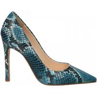 Zapatos Mujer Zapatos de tacón Enzo Di Martino CAMOCIO TACCO CARIOCA pavone