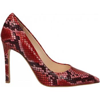 Zapatos Mujer Zapatos de tacón Enzo Di Martino CAMOCIO TACCO CARIOCA rosso