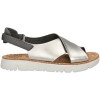 Zapatos Mujer Sandalias Camper ORUGA gris-argento