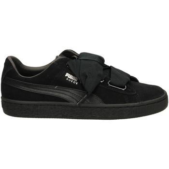 Zapatos Mujer Zapatillas bajas Puma SUEDE HEART EP blamb-nero