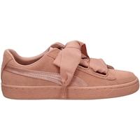 Zapatos Mujer Zapatillas bajas Puma SUEDE HEART EP pbemb-rosa