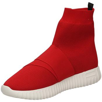Zapatos Mujer Zapatillas altas Fessura DINGHY KNIT red-rosso