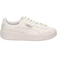 Zapatos Mujer Zapatillas bajas Puma BASKET PLATFORM EP W wht-bianco
