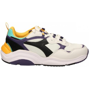 Zapatos Running / trail Diadora WHIZZ RUN c8019-bianco-nero-viola