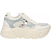 Zapatos Mujer Zapatillas bajas Voile Blanche MONSTER MESH bianco-argento