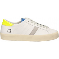 Zapatos Mujer Zapatillas bajas Date HILL DOUBLE FLUO white-yellow