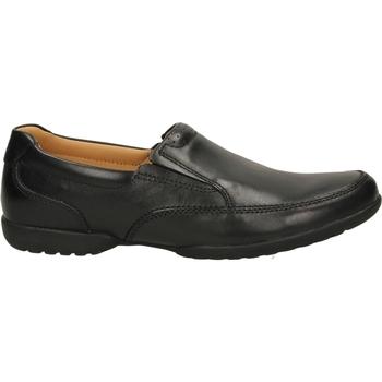 Zapatos Hombre Mocasín Clarks RECLINE FREE black-nero