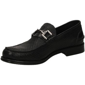 Zapatos Hombre Mocasín Brecos OXFORD IKARO nero-nero