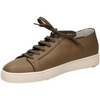 Zapatos Hombre Zapatillas bajas Santoni TENNIS 6F iam61-taupe
