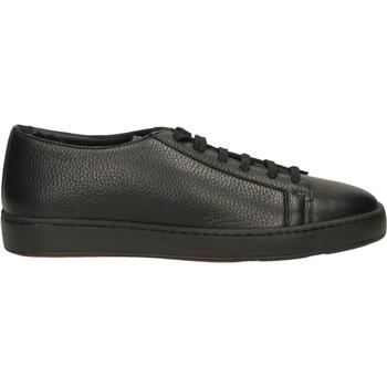 Zapatos Hombre Zapatillas bajas Santoni TENNIS 6F+T.LIS+INF ydn01-nero