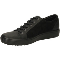 Zapatos Hombre Zapatillas bajas Ecco SOFT 7 MENS RUDO SPI black-nero