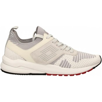Zapatos Hombre Zapatillas bajas Lotto MARATHON KNIT 1b7-white-vapor-gray