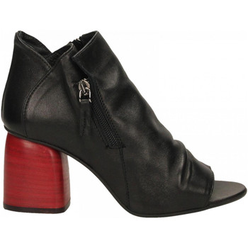 Zapatos Mujer Sandalias Way Out London MONT. nero-rosso