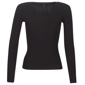 textil Mujer jerséis Emporio Armani 6G2MTH-2M05Z-1001 Negro