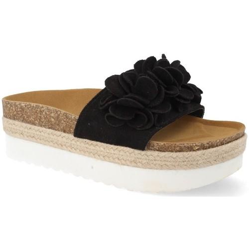Amy B8121 Negro - Envío gratis | ! - Zapatos Alpargatas Mujer