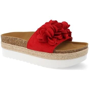 Zapatos Mujer Alpargatas Amy B8121 Rojo