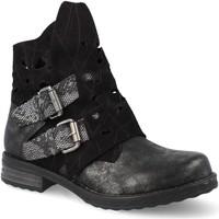 Zapatos Mujer Botines Amy F3051 Negro