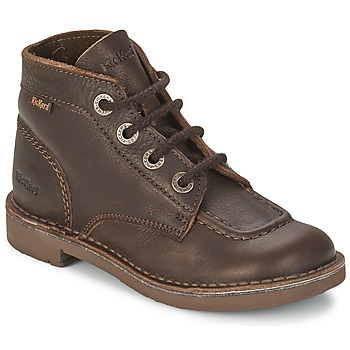 Zapatos Niños Botas de caña baja Kickers KICK COL Oscuro