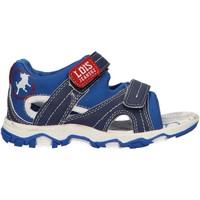 Zapatos Niño Sandalias Lois Jeans 46085 Azul