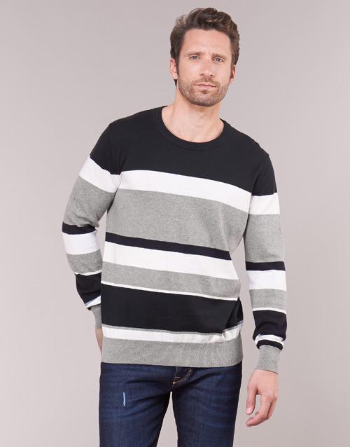textil Hombre Jerséis Casual Attitude LORISS Negro / Gris