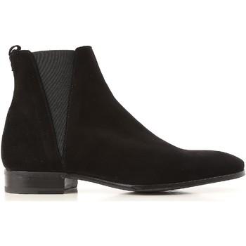 Zapatos Hombre Botas de caña baja D&G A60176 AU998 80999 nero
