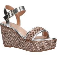 Zapatos Mujer Alpargatas Maria Mare 67494 Plateado