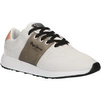 Zapatos Mujer Zapatillas bajas Pepe jeans PLS30841 KOKO Blanco