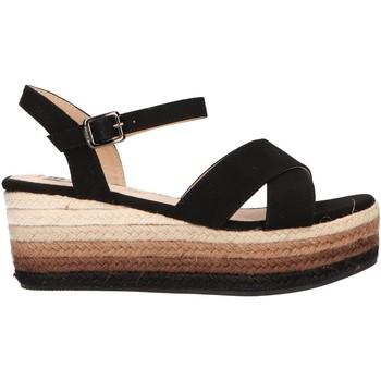 Zapatos Mujer Sandalias MTNG 50740 Negro