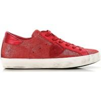Zapatos Mujer Zapatillas bajas Philippe Model CLLD XM89 rosso