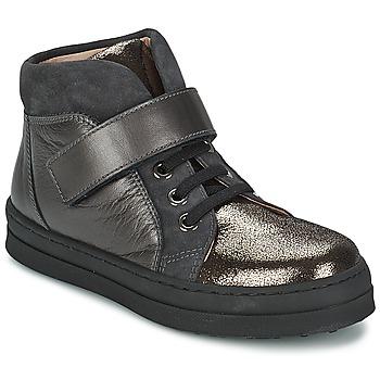 Zapatos Niña Zapatillas bajas Unisa CALATA Gris / Negro