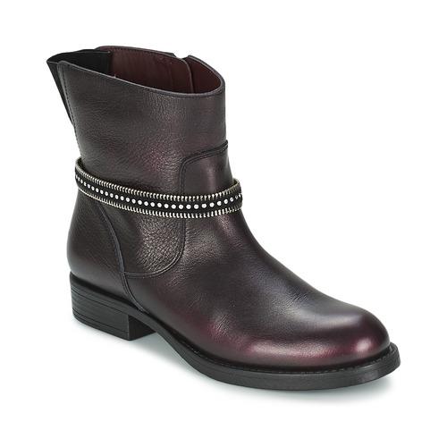 Zapatos Niña Botas de caña baja Unisa GEMA Burdeo